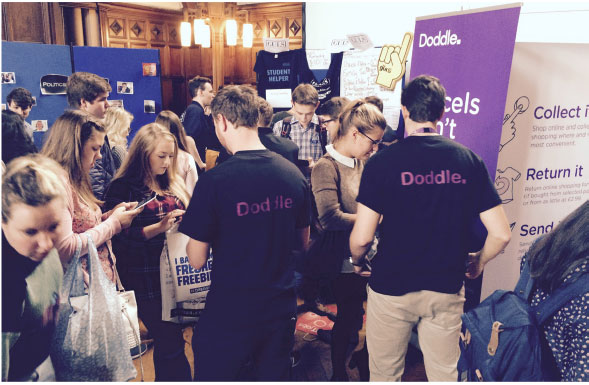Doddle Freshers Campaign
