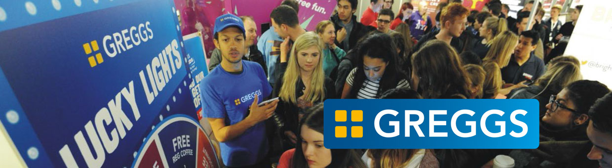 Greggs Freshers Campaign
