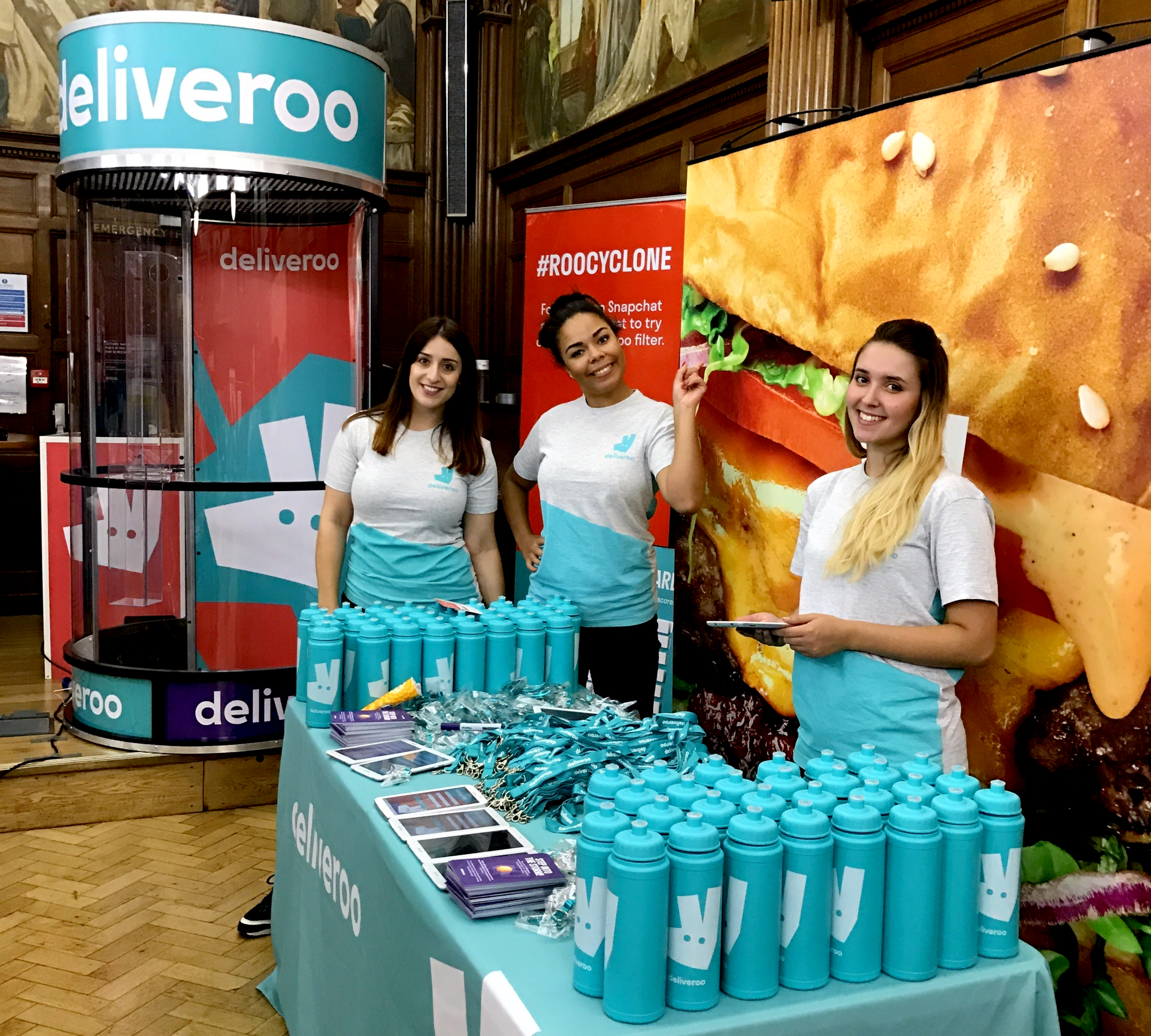 Deliveroo Freshers Campaign