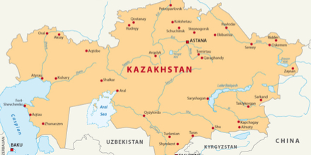 Kazakhstan is big! Very big! In fact it's the world's biggest landlocked country. Similar to the US they take internal flights like we hail a taxi!