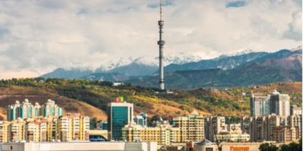 Almaty is the biggest city in Kazakhstan with 1.8million residents. It was the capital city until 1997. The name Almaty means 'Father of Apples' and locally it referred to as Apple Town with many claiming it is the home of the first apple. Hmm fruity!