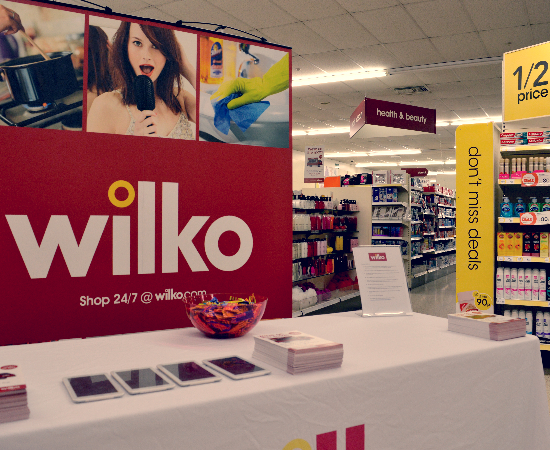 Wilkos Instore Campaign