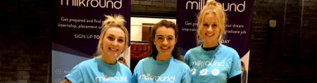 Milkround at Freshers 2018